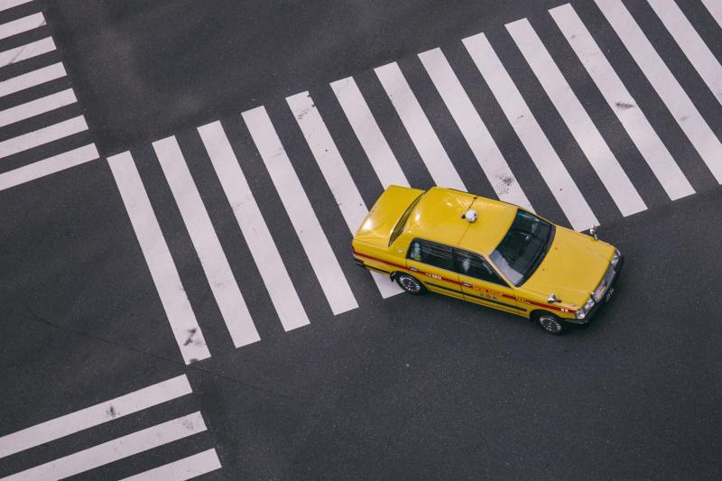 ▲日本東京計程車。(示意圖,非文中當事人/取自 Unsplash )