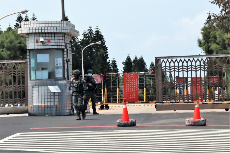 馬公海軍基地15位敦睦支隊官兵 全數解除隔離
