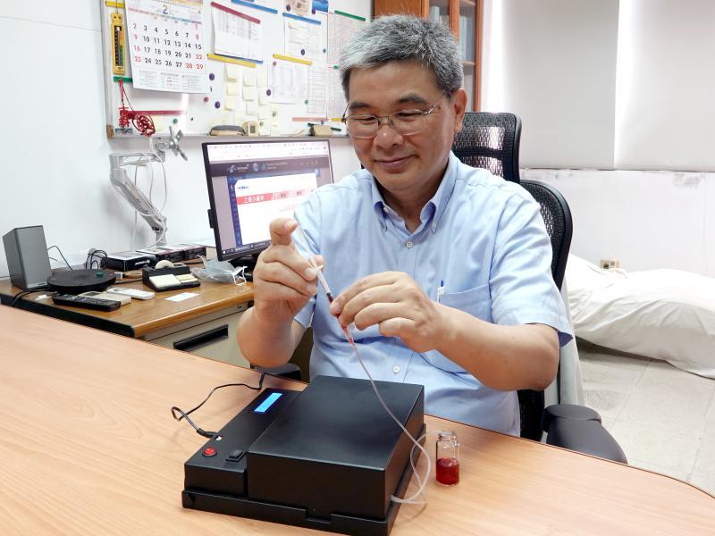 中正大學新專利 <b>敗血症</b>發炎因子1小時快篩