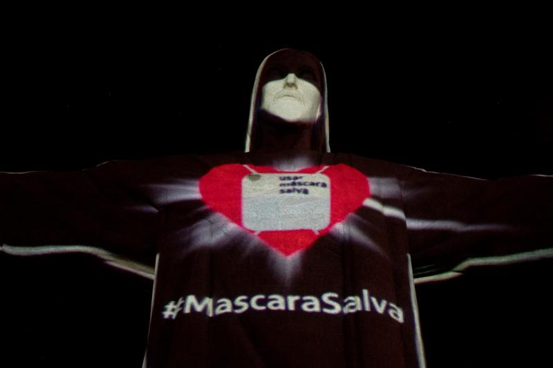 巴西為南美疫情最嚴重的國家,目前累計病例已達10萬人。▲(圖/翻攝自jornal de brasilia)