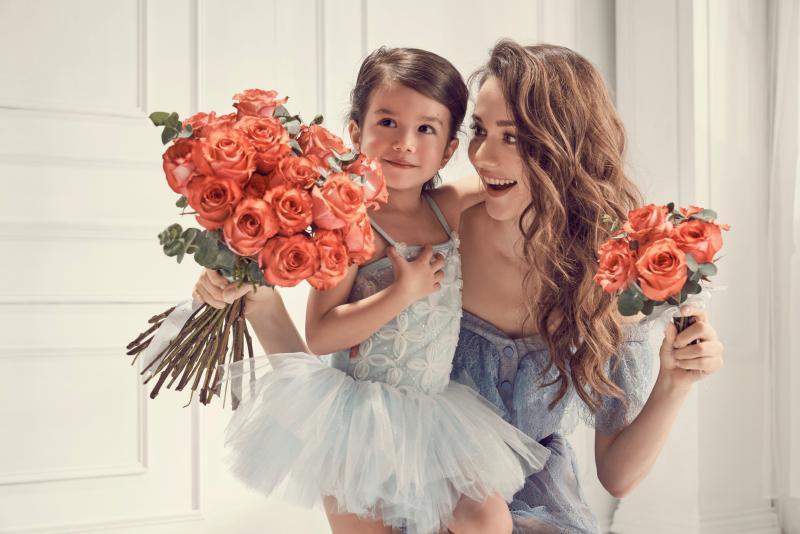 ▲瑞莎育有3歲女兒Nika。(圖 / Flowerflower 花的提供)