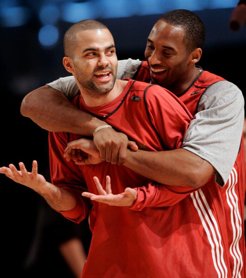 NBA/帕克透露和Kobe生前最後一次見面是在聊女籃