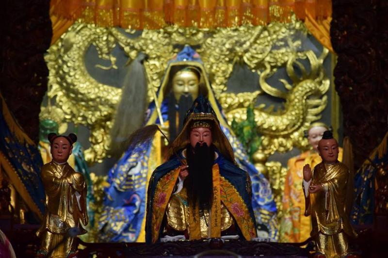 ▲呂洞賓在台灣是強勢信仰。(圖/翻攝自指南宮文化研究中心)
