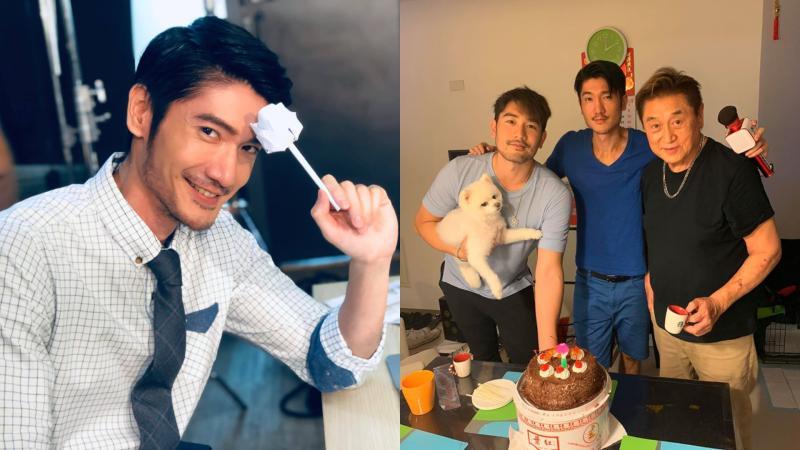 ▲高宇橋(左圖)過生日,一張慶生舊照惹哭網友。(圖/高宇橋臉書)