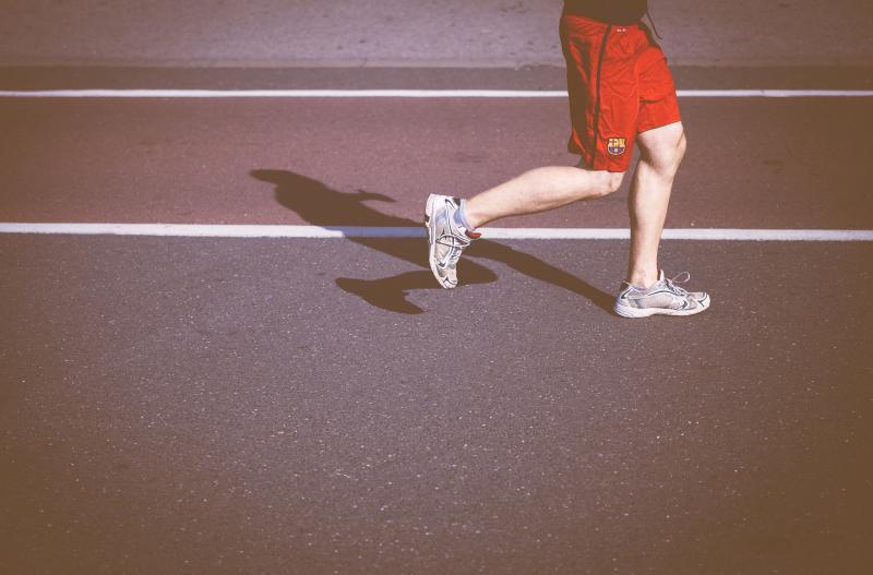 ▲沒有運動導致身體代謝減緩,飲食上要更加注意。(示意圖,非本人/取自Unsplash)