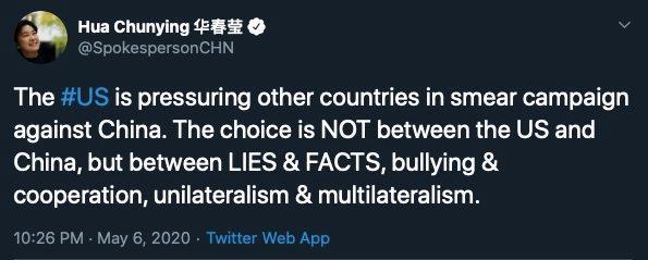 ▲華春瑩推特全文。(圖/翻攝自華春瑩推特)