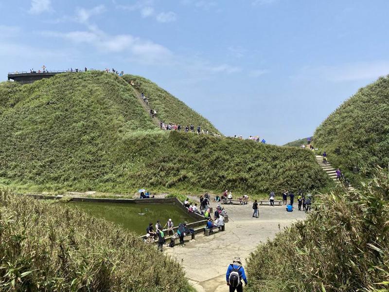 ▲▲抹茶山近來假日常有登山人潮。(圖/羅東林管處提供)