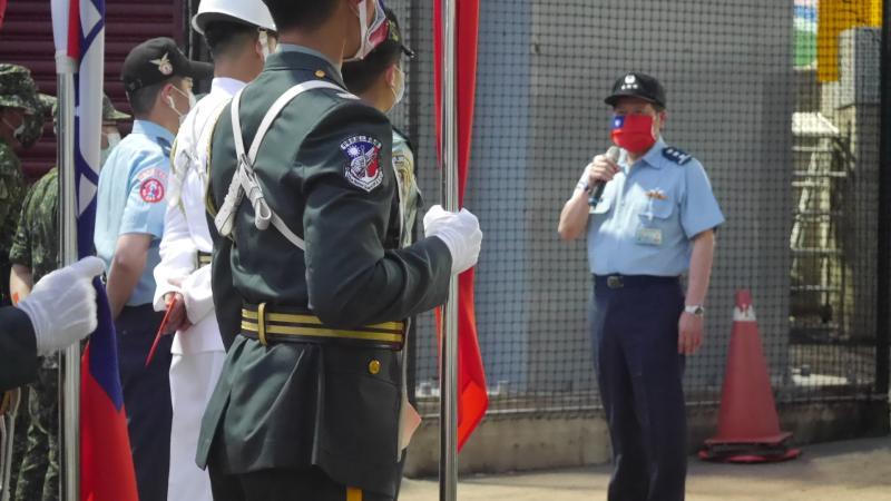 ▲國防部副部長張哲平。(圖/吳政紘攝)
