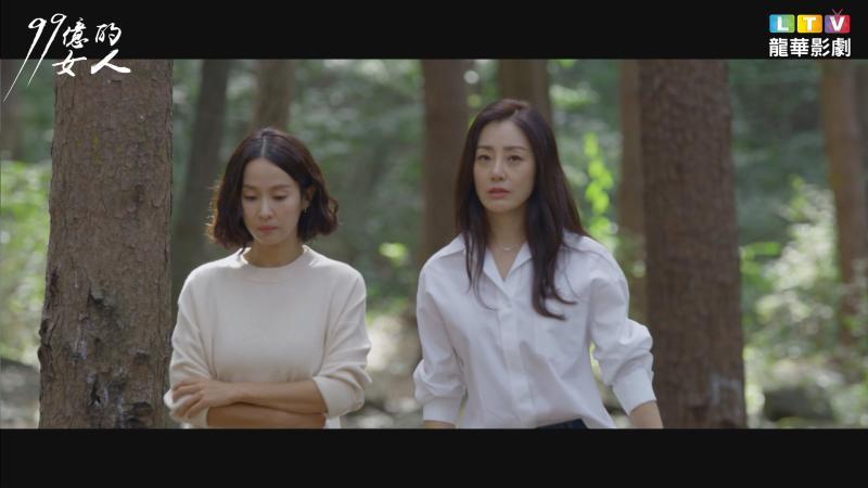 ▲曹如晶(左)劇中偷吃閨密老公。(圖/龍華電視)