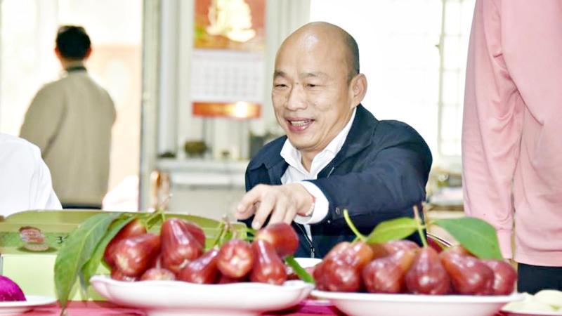 高雄市長韓國瑜。( 圖 / 翻攝韓國瑜臉書 )