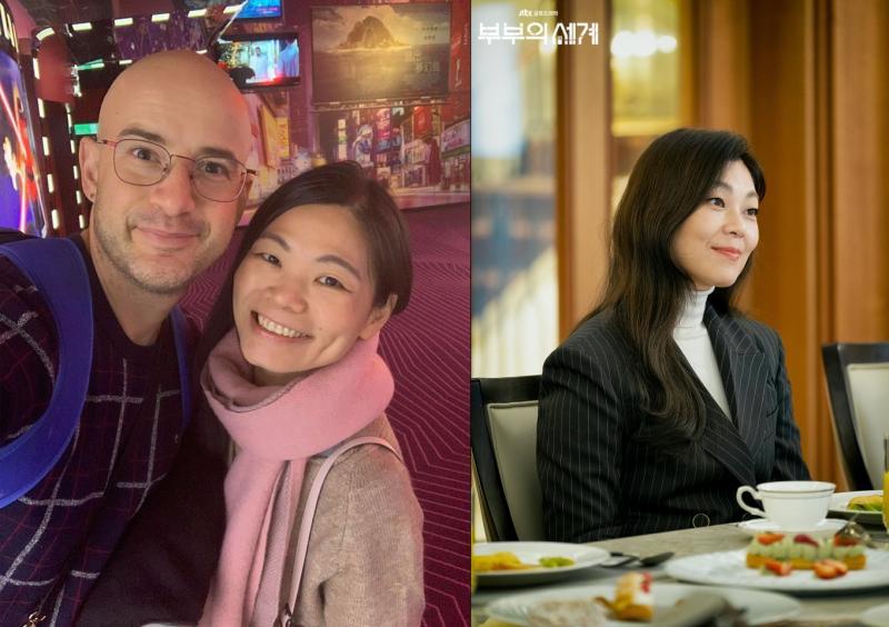 ▲Rynne(左圖右)神似蔡國熙。(圖/吳鳳臉書、JTBC)
