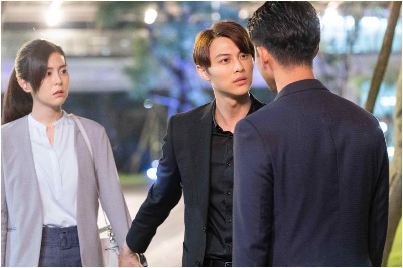▲本週劇情大躍進,邱勝翊(右二)跟任容萱告白。(圖