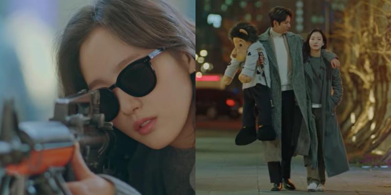 金高銀、李敏鎬遊戲館約會 她「閉眼射擊」幫男友贏娃娃