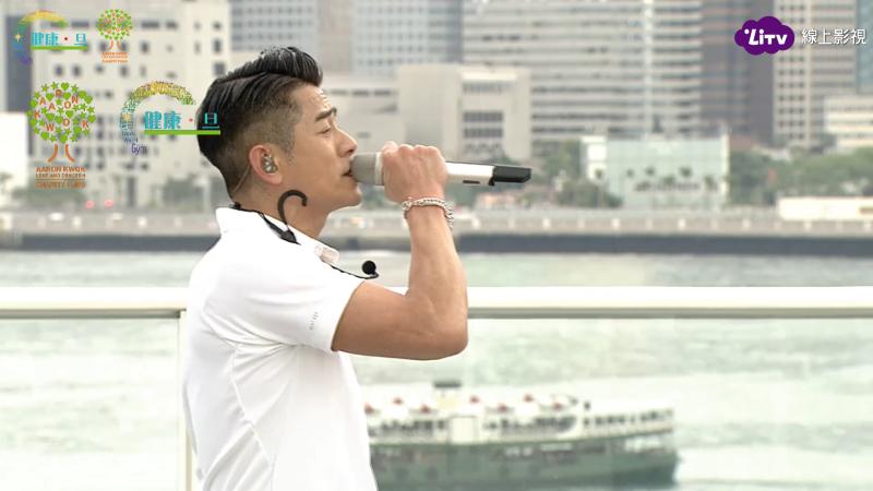 ▲郭富城舉辦線上慈善演唱會。(圖/LiTV