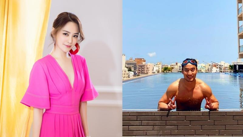 ▲傳阿嬌(左)和賴弘國(右)還沒離婚。(圖/阿嬌、賴弘國IG)