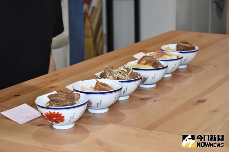 ▲焢肉還分為三層肉、圈仔、離緣肉,最好吃也為一般民眾喜愛的是用後腿肉為食材。(圖/記者陳雅芳攝,2020.05.10)
