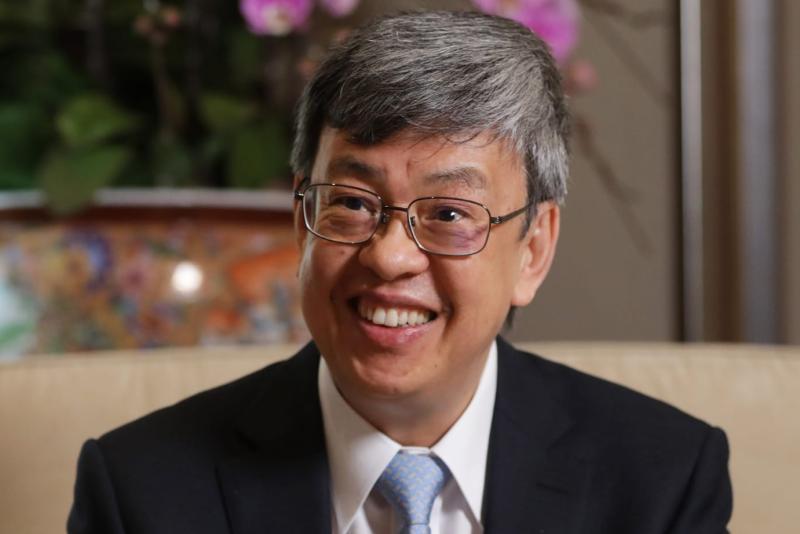 ▲現任副總統陳建仁。(圖/翻攝陳建仁臉書)