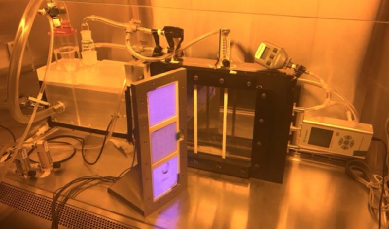 ▲美國哥倫比亞大學研究出遠紫外線C光,同時對人無害且能消毒。(圖/翻攝Columbia University Center for Radiological Research)