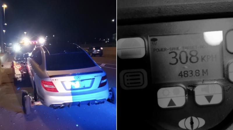 19歲青少年時速308公里狂飆 加拿大警直呼難置信
