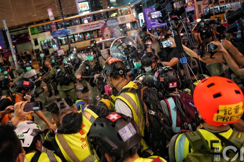 ▲香港網友星期日發起「和你SING」示威活動。(圖/翻攝自《香港 01 》)