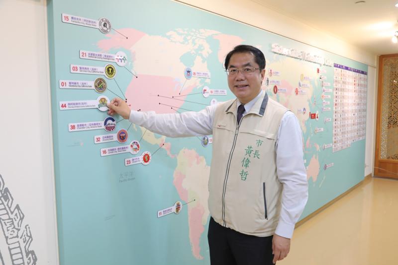 黃偉哲宣布台南市又多一位國際夥伴