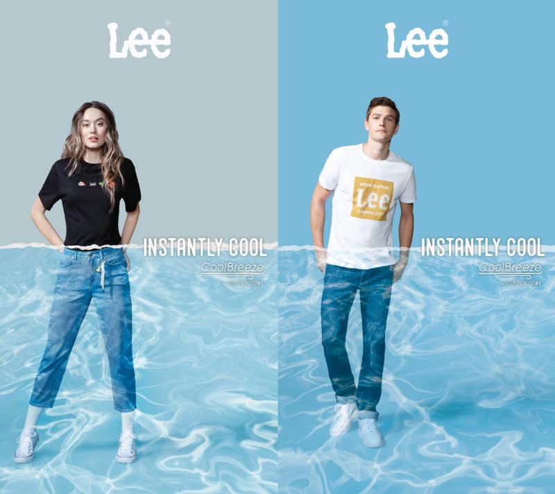 ▲知名牛仔褲品牌LEE今夏推出一系列涼感褲,採用高科技纖維,加強排汗快乾功能,夏天穿牛仔褲也能好涼快!(圖/資料照片)