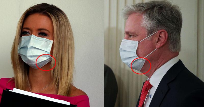 ▲白宮發言人麥肯內尼(左)以及國家安全顧問歐布萊恩(右)。