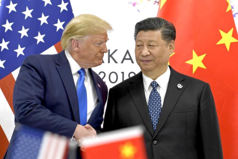 ▲美國總統川普、中國領導人習近平。(圖/翻攝自 Politico )