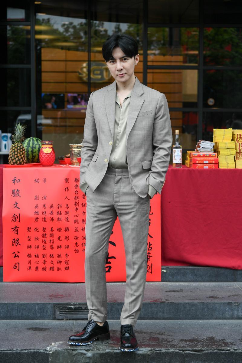 ▲唐禹哲睽違六年回台拍戲。(圖