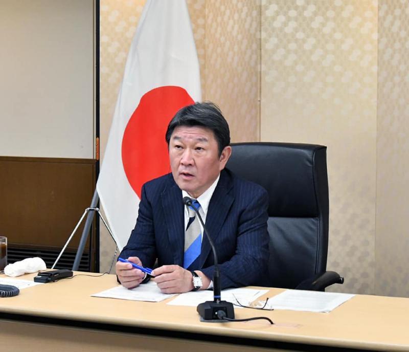 日本外相:收到蔡總統與台灣感謝 能幫忙太好了