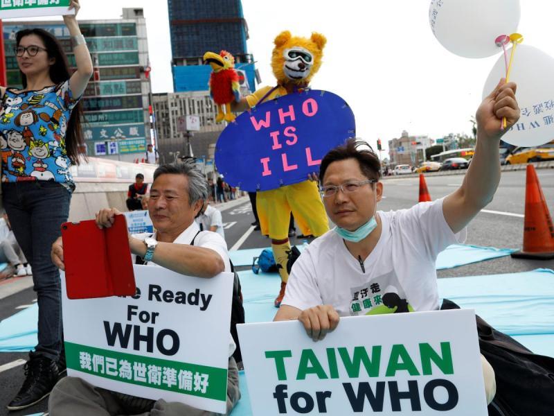 ▲民眾發起活動,表達支持台灣加入 WHO。(圖/翻攝自 Qutarz )