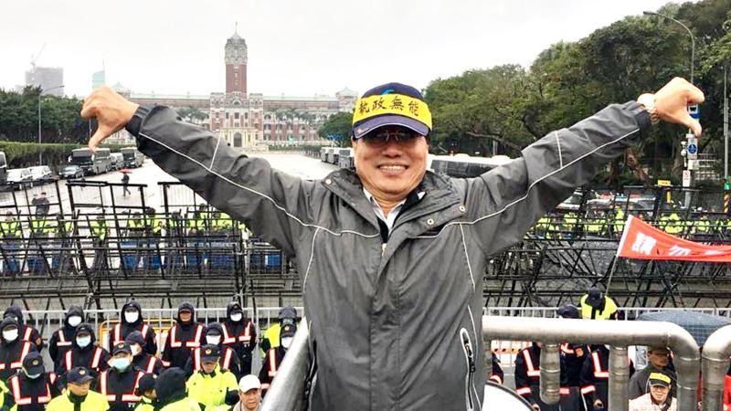 全國公務人員協會榮譽理事長李來希。(圖/翻攝李來希臉書)