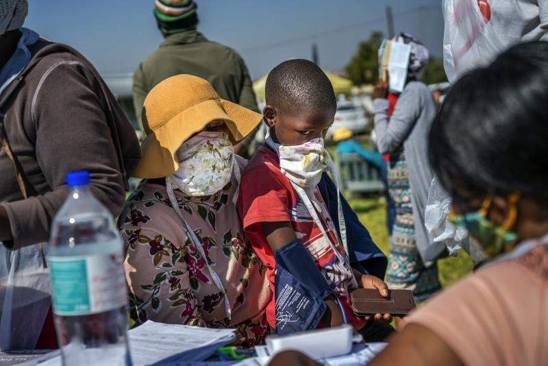 ▲新冠肺炎疫情非洲 54 個國家都已傳出確診。圖為近日南非。(圖/美聯社/達志影像)