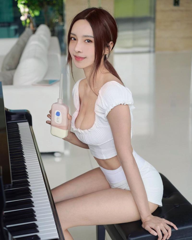 ▲李元玲有扎實的音樂底子。(圖/李元玲IG)