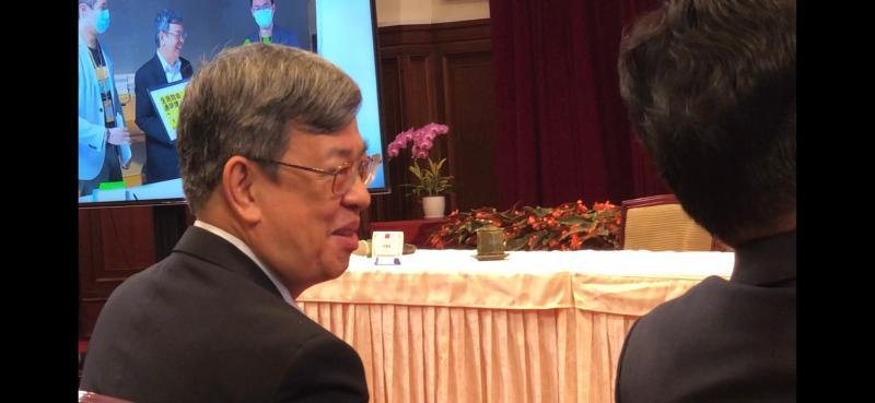 副總統陳建仁即將卸任