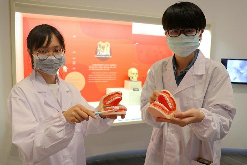 ▲十三行博物館推出全新「早安博物館」,帶領星兒認識骨骼和牙齒,增加防疫觀念。(圖/新北市文化局提供)