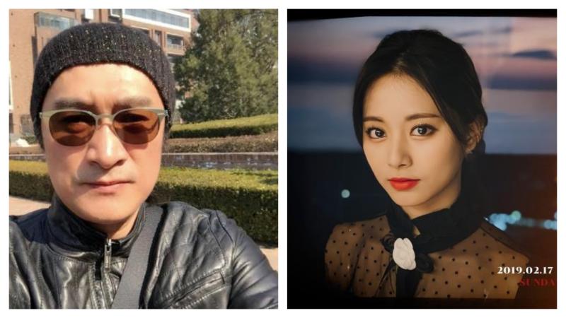 黃安曾舉報韓團「TWICE」成員周子瑜,使她遭中方抵制。(圖/翻攝自微博與Twice官網)