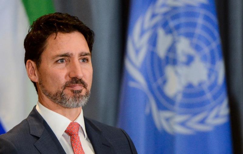 ▲加拿大總理杜魯道。(圖/翻攝自 CTV News )