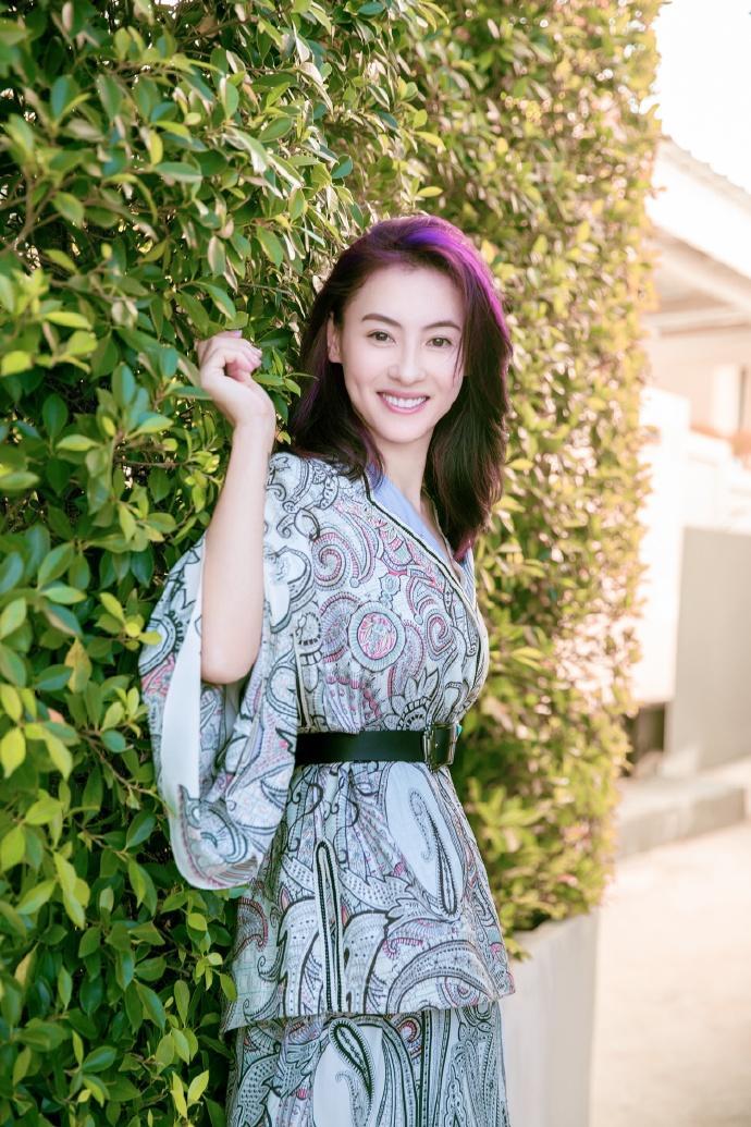▲張柏芝是香港一線女星。(圖/張柏芝工作室微博)