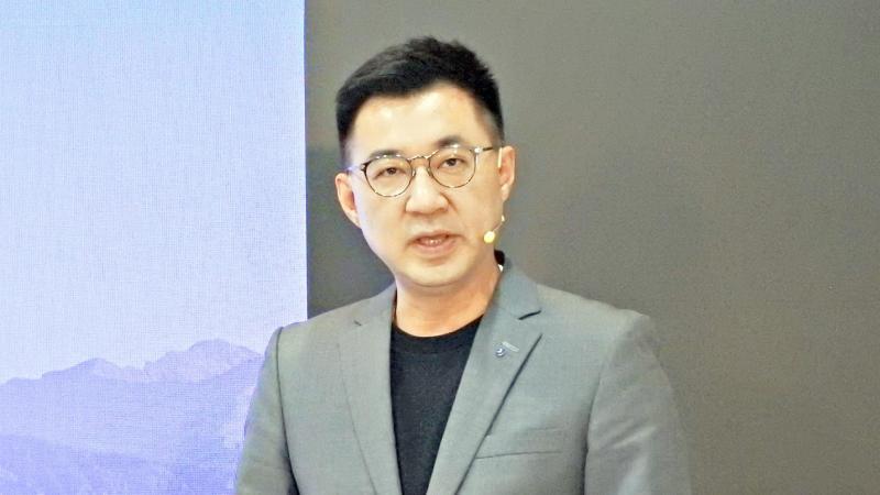 ▲國民黨主席江啟臣。(圖/記者陳弘志攝)