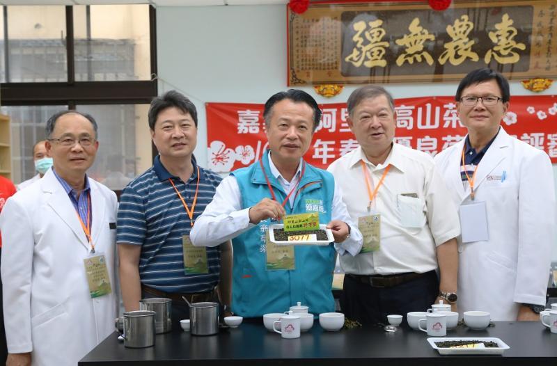 阿里山<b>高山茶</b>春茶評鑑揭曉 5月31展售第一好茶5萬起標