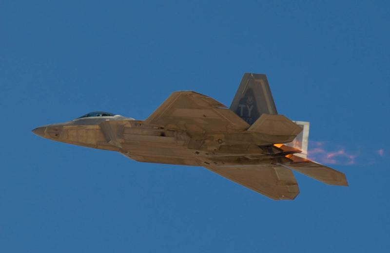 美國空軍F-22隱形戰機