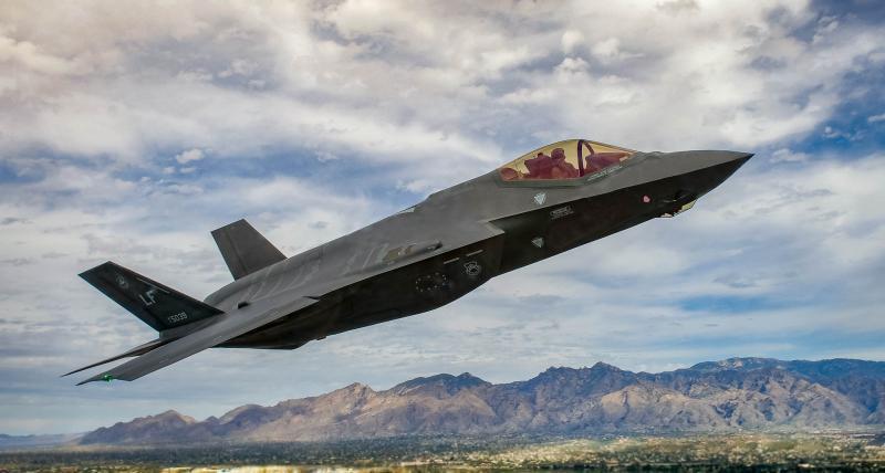 共機頻擾台引外媒關注 美前官員主張租台F-35隱形戰鬥機
