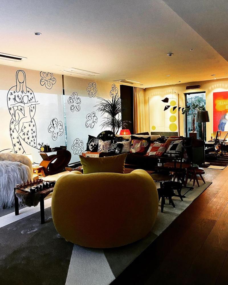 ▲GD的家具相當時髦。(圖/