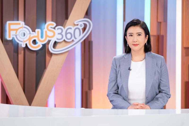 ▲方念華在節目中討論各國抗疫手段。(圖/TVBS提供)