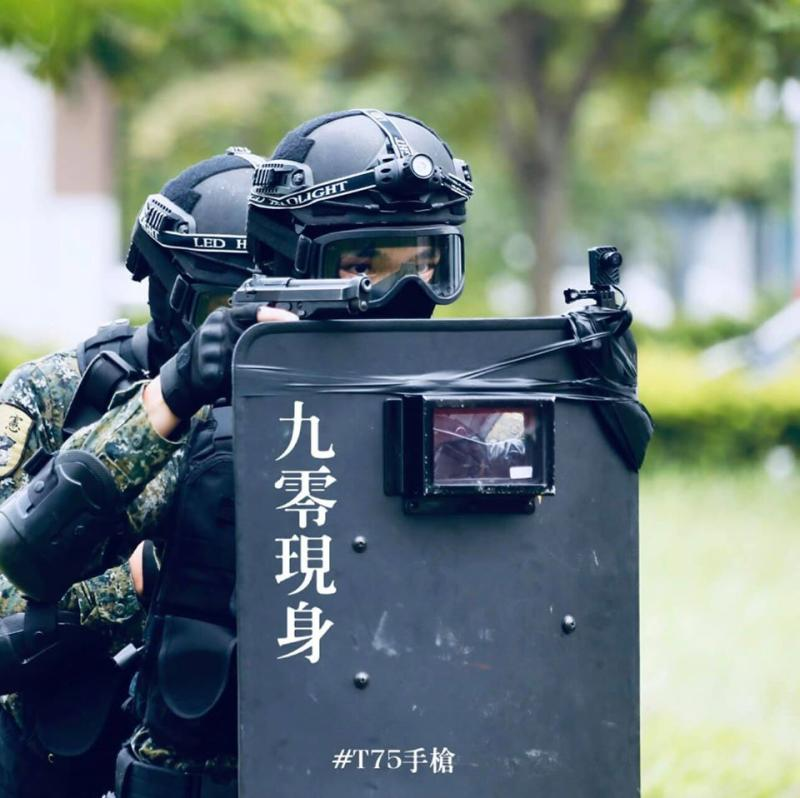 慶祝連9日零確診,國防部貼出T75K3 9公厘