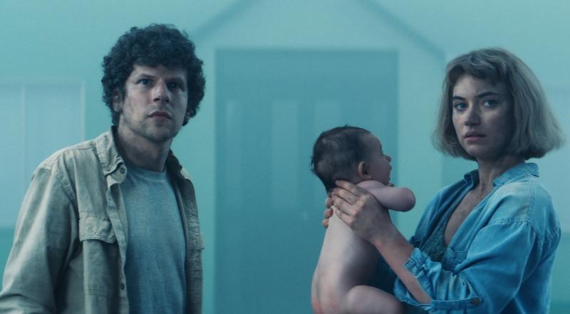 ▲▼傑西艾森柏格(左)主演《超完美社區》。(圖/車庫)