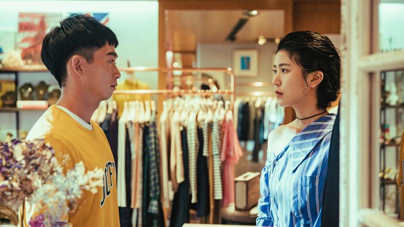 ▲陳璇(右)跟王可元有多場曖昧戲。(圖