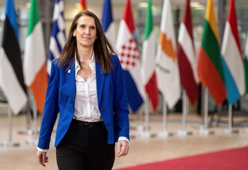 ▲比利時總理威爾梅斯(Sophie