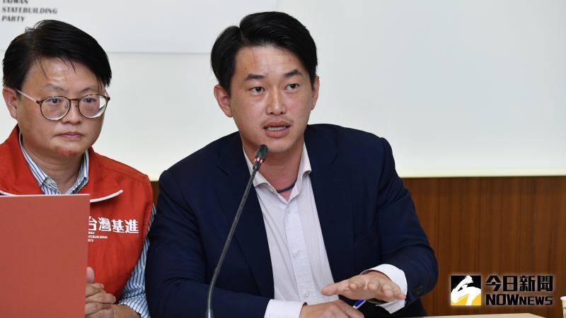 台灣基進黨立委陳柏惟「把握歷史契機 確立台灣主權」記者會。(圖/記者林柏年攝,2020.05.19)